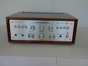 Marantz Integrated Amplifier With Case