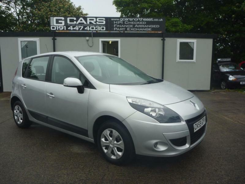 2009 59 RENAULT SCENIC 1.5 EXPRESSION DCI 5D 105 BHP DIESEL