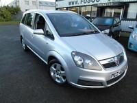 2007 Vauxhall Zafira 1.6i Energy - Silver - Platinum Warranty!