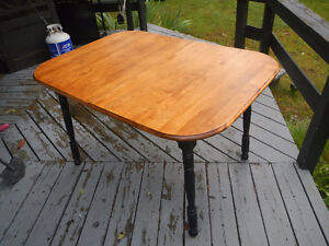 Refinished Maple Table w/leaf