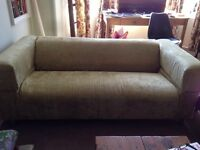 IKEA 3 seater sofa - recovered - what a bargain!