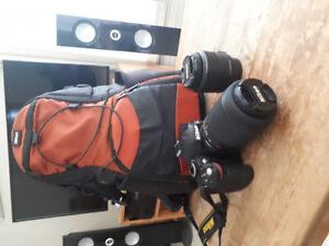 Nikon D3200 DSLR Camera with 2 Lens