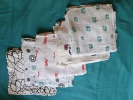 BABY SWADDLES ADEN+ANAIS