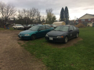 Two 1995 Honda Civics For Sale