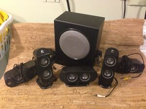Logitech X530 5.1 surround sound speakers