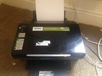 Epson all in one printer/scanner with 17 replacement cartridges + photo paper