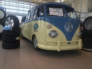 1 of a kind 1962 Volkswagen Double Cab Stretch Bus!