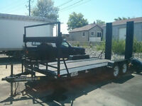 18 FT CAR HAULER FOR LARGE VEHICLES AND TRUCKS