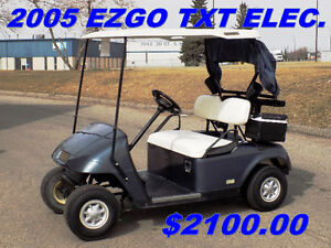 GOLF CARTS - USED STOCK OR KUSTOM