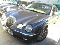Jaguar S-TYPE 2.5 V6 auto SE grey with biscuit leather very clean with history