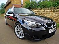 2010 BMW 520D M-SPORT TOURING BUSINESS EDITION LCI. FULL BMW SERVICE HISTORY !!