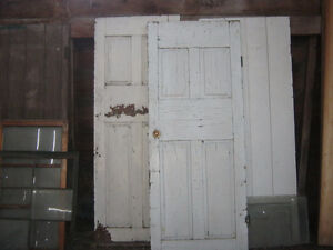 Two Solid Oak, Farm House Exterior Doors For Sale