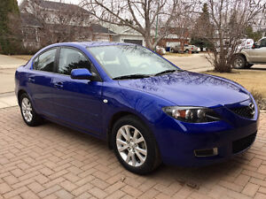 2008 Mazda 3 Sedan, Low KM, First Owner.