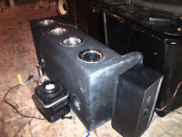 "2 12"" subs in box"