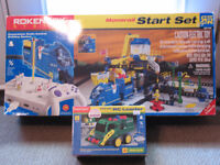 Rokenbok Monorail Starter set and wireless RC loader