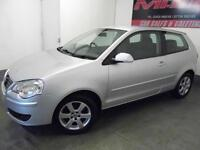 Volkswagen Polo 1.4 ( 80PS ) 6 Speed Auto 2008 Match Low Mileage FSH