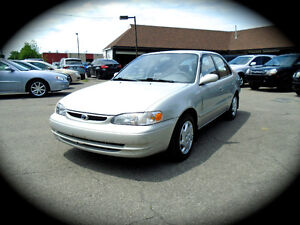 2000 Toyota Corolla LE, AUTOMATIC, POWER GROUP & AC. *ONE OWNER*