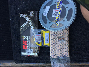 Brand new Chain and Sprockets
