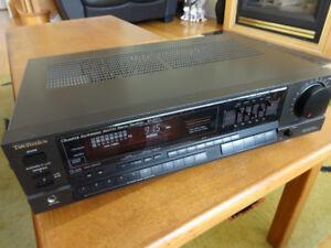 Technics SA-R177 AM/FM/80W Quartz Synthesizer Receiver for sale