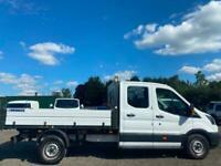67 2017 Ford Transit 2.0TDCi Double Cab Tipper EU6 350 L3H2 - NO VAT