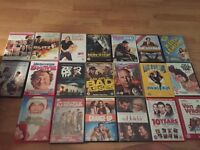 Large bundle of dvds and Xbox 360 games