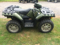2009 POLARIS 550 XP WITH EPS (FINANCING AVAILABLE)