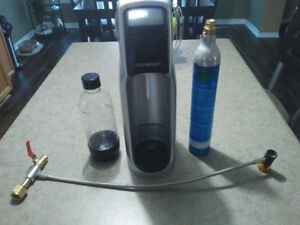 used sodastream and co2 refill gear