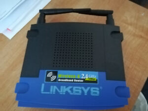 Linksys Router Wireless-G 2.4Ghz.