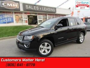 2016 Jeep Compass Sport  4X4, HIGH ALTITUDE, LEATHER, ROOF, BLUE
