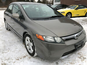 2006 Honda civic/Certified/Sunroof/Alloy rims/Accident free