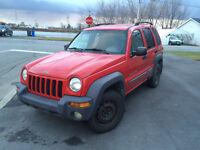 Jeep Liberty 2002 4x4 Automatique