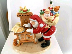 """""""Cookies for Santa"""" Limited edition by Royal Doulton 22 karat Go"""