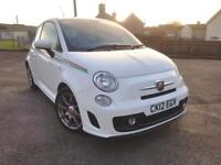 2012 12 Abarth / Fiat 500 1.4 Turbo 135bhp Petrol Manual 3 Door