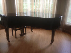 Yamaha C3 Grand Piano and Bench