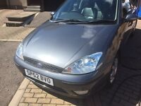 Ford Focus only one owner from new. Two keys. Very low mileage. Full service history