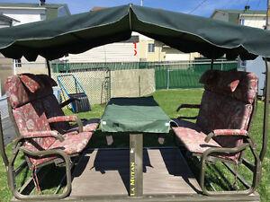 Balancoire extérieure (4 places) / Garden swing (4 seats)