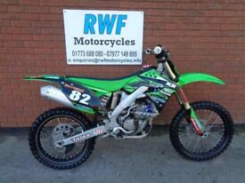 Kawasaki KXF 250 F, 2012 MODEL, EXCELLENT CONDITION, JUST HAD TOP END RE BUILD