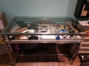 Store Display Glass Table