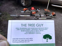 The TreeGuy Professi trimming and property maintenance. Hamilton