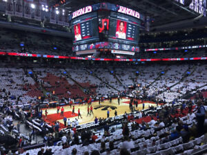 Raptors Season Tickets - LOWER BOWL SIDELINE