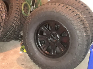 265 75 16 Pirelli scorpion AT tires brand new  on 6x139 rims