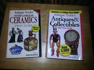 2 Antiques & Collectibles Price Guides with Color Photos