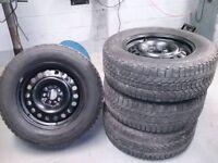 "Ford 17"" steel wheels"