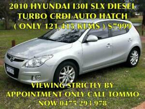 2010 HYUNDAI I30 1.6LTR 4-CYL DIESEL TURBO AUTO HATCHBACK ( A1 BUY ) Bayswater Bayswater Area Preview
