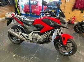 Honda NC 700 XA-C,red,abs,hiss,62 reg,9k,rear hugger,2 keys,mint bike,tail tidy.