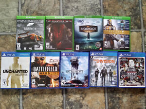 Various PS4 & Xbox One Games - $15 each