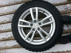 """17"""" Wheels in excellent condition (5 x 114.3mm ) Cambridge Kitchener Area image 1"""
