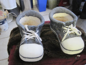 2 Very Large Sneaker Shoes Planter