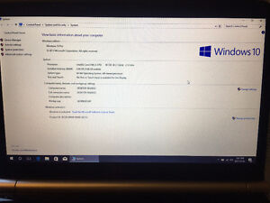 Gateway Laptop i3 4g 500g Webcam Win10pro and more