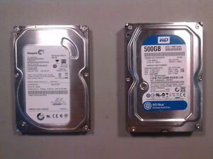 "disque dur interne 3.5"" 500GB"